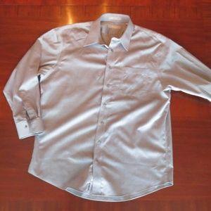 Men's Nordstrom, traditional fit shirt, 17/34